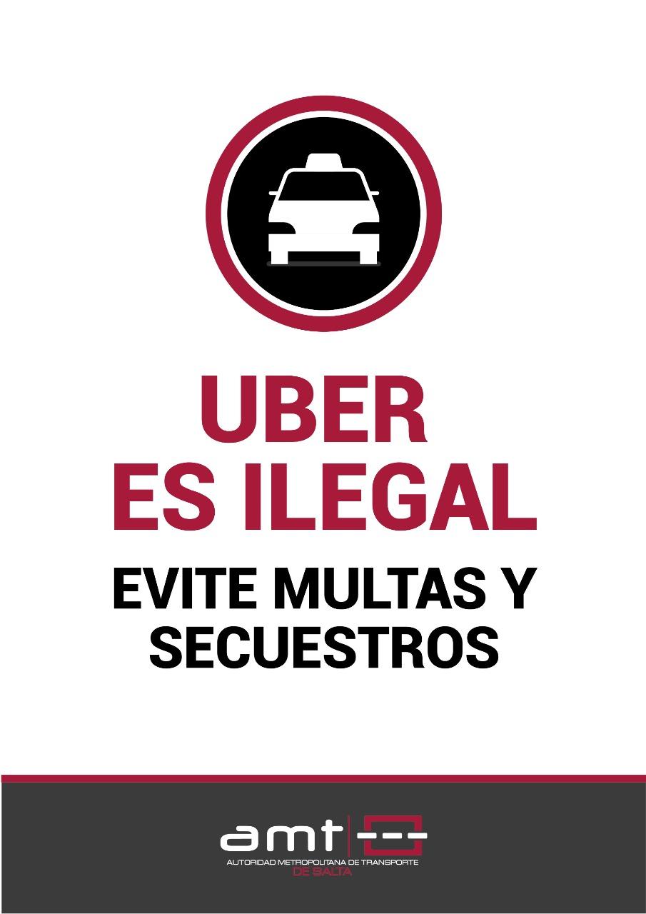 Uber es Ilegal en Salta